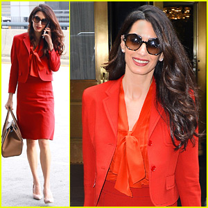 Amal Clooney Is Back at Work After Welcoming Twins!