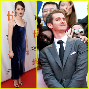 Andrew Garfield Gets Mobbed By Fans at 'Breathe' Premiere!
