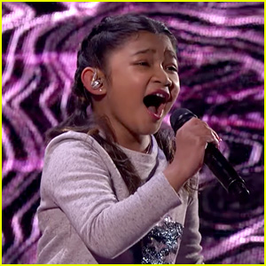 10-Year-Old Singer Angelica Hale Belts Out 'Without You' for 'America's Got Talent' Semi-Finals (Video)