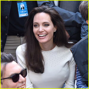 Angelina Jolie Is Full of Joy & Smiles at Telluride Film Premiere