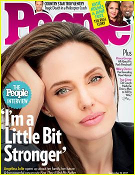 Angelina Jolie on Her Split From Brad Pitt: 'I Am a Little Bit Stronger'