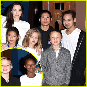 Angelina Jolie's Six Kids Look So Grown Up at Telluride Film Festival!