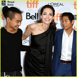 Angelina Jolie's Kids Join Her at 'First They Killed My Father' TIFF Premiere!