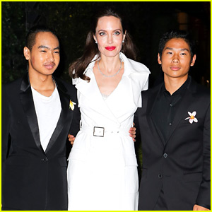 Angelina Jolie's Sons Maddox & Pax Join Her at 'First They Killed My Father' Premiere Party