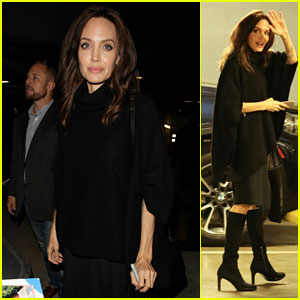 Angelina Jolie Greets Fans at 'First They Killed My Father' Q&A in LA!