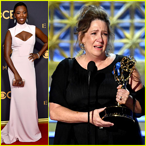 Handmaid's Tale's Ann Dowd Wins Emmy & Is Totally Shocked!