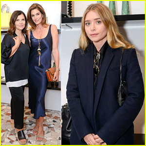 Ashley Olsen & Cindy Crawford Celebrate Edun Store Opening During NYFW!