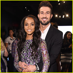 Rachel Lindsay & Bryan Abasolo Are a Stylish Couple at Badgley Mischka NYFW Show!