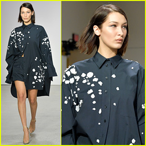 Bella Hadid Rocks the Runway for Oscar de la Renta