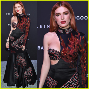 Bella Thorne Gets Edgy For 'Philipp Plein' NYFW Show