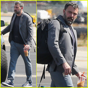 Ben Affleck Catches a Private Jet Out of LA!