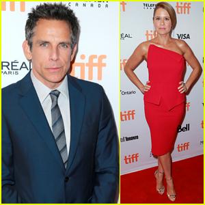 Ben Stiller & Jenna Fischer Premiere 'Brad's Status' at TIFF