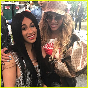 Beyonce Hangs Out with Cardi B at Made in America Festival!