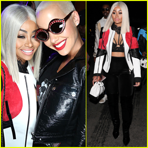 Blac Chyna Parties with Amber Rose in Hollywood