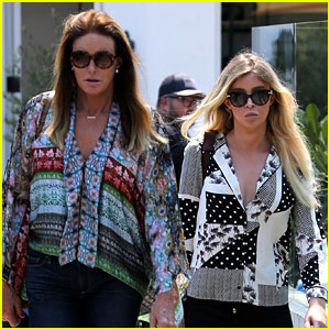 Caitlyn Jenner Grabs Lunch With Friend Sophia Hutchins