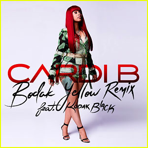Cardi B feat. Kodak Black: 'Bodak Yellow' Remix Stream, Lyrics & Download - Listen Now!
