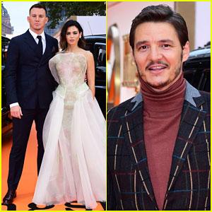 Channing Tatum & Jenna Dewan Couple Up for 'Kingsman: The Golden Circle' World Premiere!