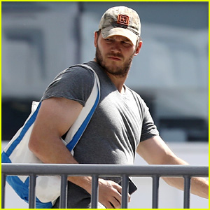 Chris Pratt Hits the Gym for a Mid-Week Workout