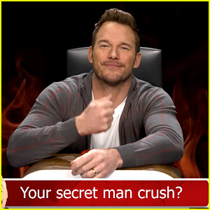 Chris Pratt Reveals His Secret Man Crush for Ellen DeGeneres' New 'Show Me More Show'
