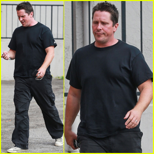 Christian Bale Grabs Lunch After Opening Up About Weight Gain