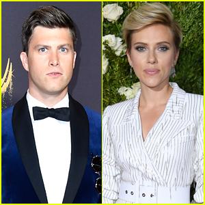 Colin Jost Gushes Over Rumored Girlfriend Scarlett Johansson, Says 'She's the Best'