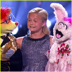 Darci Lynne Farmer & Her Two Puppets Sing a Beatles Song for 'America's Got Talent' Finals! (Video)
