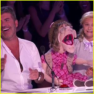 Darci Lynne Farmer's Puppet Sings to Simon Cowell on 'America's Got Talent' (Video)