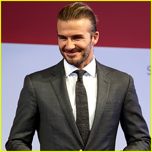 David Beckham Suits Up for a Cookout in Singapore