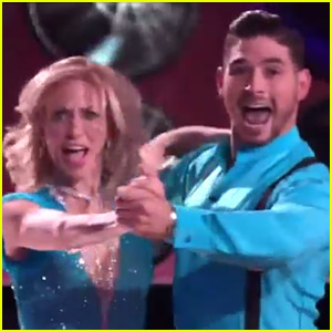 Debbie Gibson Dances a Quickstep for 'DWTS' Ballroom Night (Video)