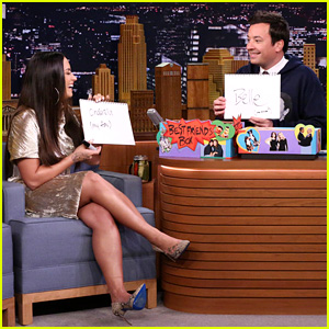 Demi Lovato & Jimmy Fallon Hilariously Play the Best Friends Challenge (Video)