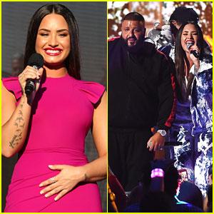 Demi Lovato Jet Sets For Surprise iHeartRadio Music Festival Performance