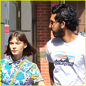 Dev Patel & Girlfriend Tilda Cobham-Hervey Run Errands in Beverly Hills