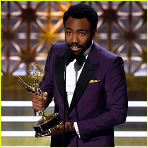 Donald Glover Announces He's Having a Second Son at Emmys 2017!