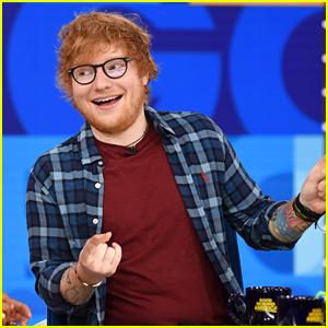 Ed Sheeran Announces 2018 Stadium Tour on 'GMA' (Video)