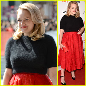 Elisabeth Moss Is Glowing at 'The Square' Premiere at TIFF 2017!