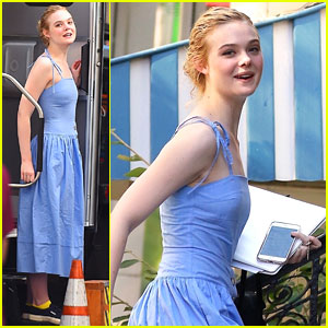 Elle Fanning Is Really Nervous Working On New Woody Allen Film