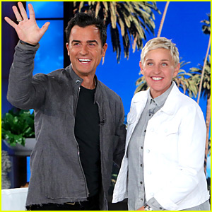Ellen DeGeneres Asks Justin Theroux to Name Jennifer Aniston's Best Friend