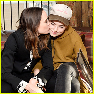 Ellen Page Gives Girlfriend Emma Portner a Kiss at TIFF!