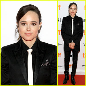 Ellen Page Looks Chic in Suit at 'The Cured' Premiere at TIFF 2017!