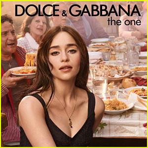 Emilia Clarke Stars in Dolce&Gabbana's New Fragrance Campaign!