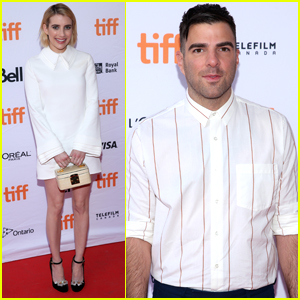 Emma Roberts & Zachary Quinto Premiere 'Who Are We Now' at TIFF