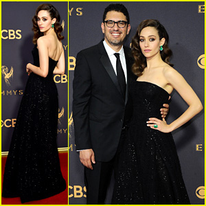 Emmy Rossum & Sam Esmail Make First Official Post-Wedding Appearance at Emmys 2017