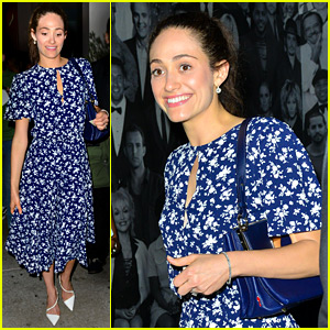 Emmy Rossum Joins 'Shameless' Cast for Emma Kenney's Birthday Dinner!