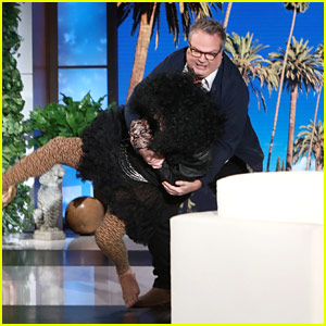 Eric Stonestreet Gets Revenge on Ellen After One Too Many Scares - Watch Now!