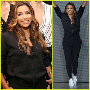 Eva Longoria Debuts Her New Fashion Collection at NYFW!