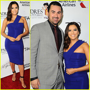 Eva Longoria Hosts Padres Contra El Cancer's El Sueno De Esperanza Celebration!