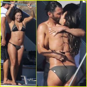 Eva Longoria Rocks a Tiny Bikini on Vacation with Hubby Jose Baston!