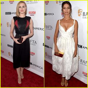 Westworld's Evan Rachel Wood & Angela Sarafyan Look Tan Chic por Delante de los Emmys 2017!