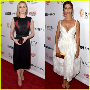 Westworld's Evan Rachel Wood & Angela Sarafyan Look So Chic Ahead of Emmys 2017!