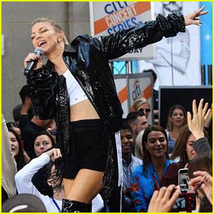 Fergie Performs 'You Already Know,' 'M.I.L.F. Money,'
